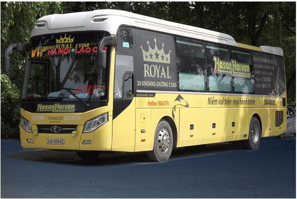 Xe Vip Royal cabin đơn