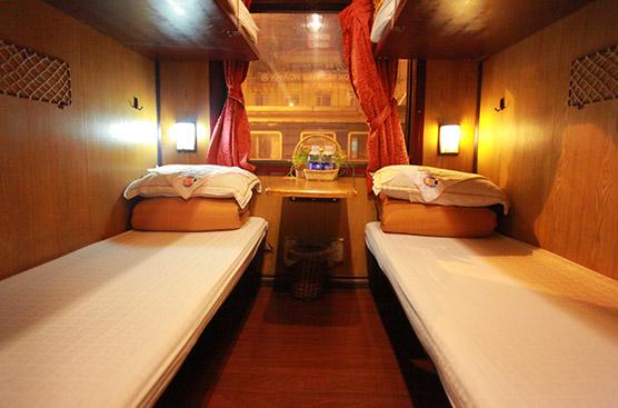 Cabin 4 giường điều hòa ốp gỗ - 2